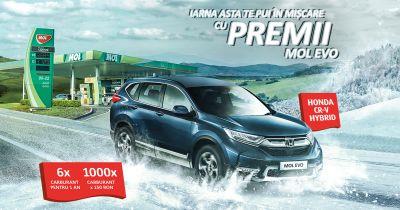Câștigă o mașină Honda CR-V Hybrid Elegance