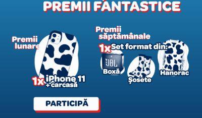 Câștigă 2 telefoane mobile iPhone 11