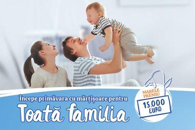 Câștigă 15.000 de euro pentru o primăvară cu zâmbete în toată familia