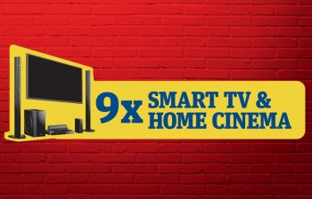 Câștigă 9 sisteme Smart TV & Home Cinema