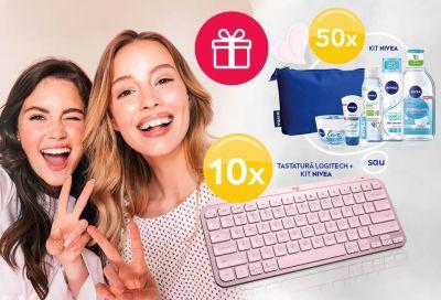 Câștigă 10 tastaturi wireless Logitech MX Keys Mini