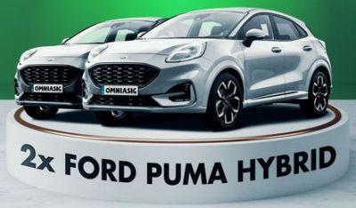 Câștigă 2 mașini Ford Puma EcoBoost Hybrid