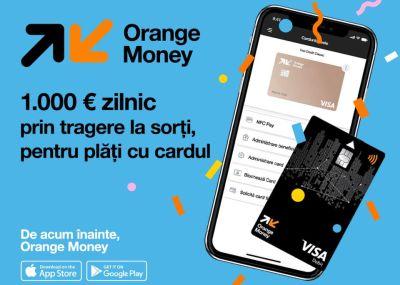 Câștigă zilnic 1.000 de euro cu Orange Money