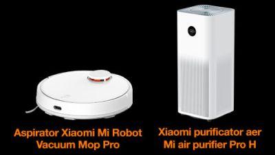 Câștigă 3 aspiratoare Xiaomi Mi Robot Vacuum Mop Pro