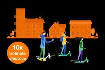 Câștigă 10 trotinete electrice Xiaomi