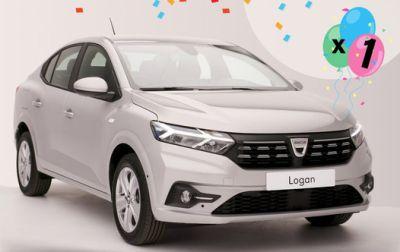 Câștigă o mașină Dacia Logan