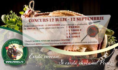 Câștigă 10.000 euro de la Peneș Curcanul