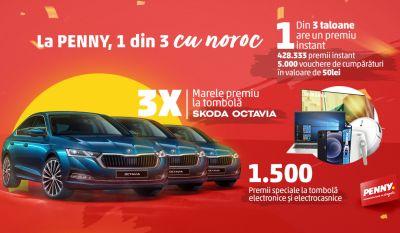 Câștigă 3 mașini Skoda Octavia