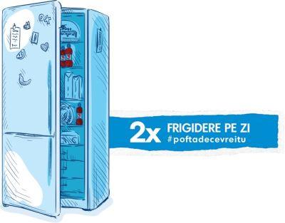 Câștigă 28 frigidere cu 2 uși Beko
