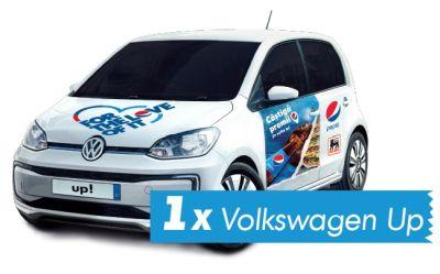 Câștigă o mașină Volkswagen Up