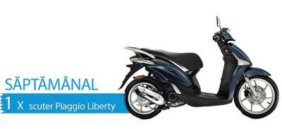 Câștigă 4 scutere Piaggio Liberty