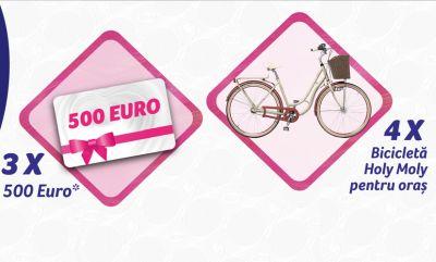 Câștigă 3 premii în valoare de 500 euro fiecare