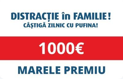 Câștigă 1.000 euro și 77 x 100 euro
