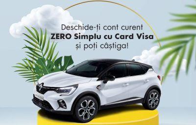 Câștigă o mașină Renault Captur E-Tech Plug-In Hybrid