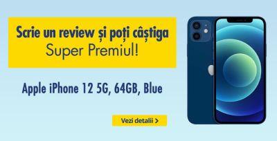 Câștigă un telefon iPhone 12 5G