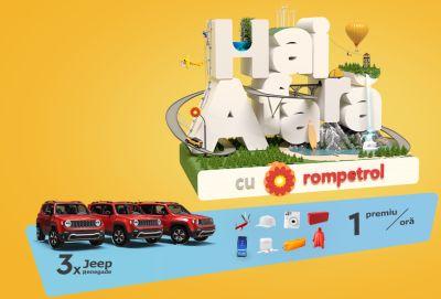 Câștigă 3 mașini Jeep Renegade