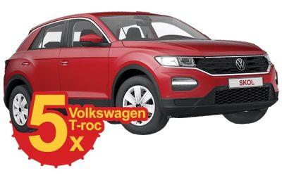 Câștigă 5 mașini Volkswagen T-Roc