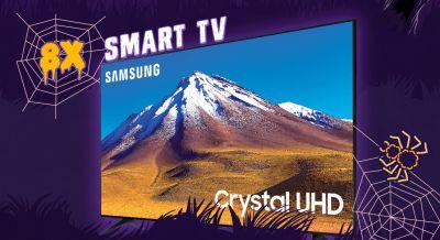 Câștigă 8 televizoare Samsung 55TU7092