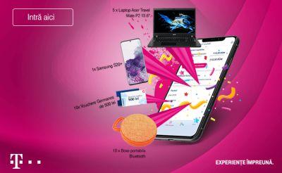 Câștigă un smartphone Samsung Galaxy S20+