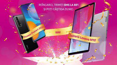 Câștigă 20 de telefoane mobile Huawei P Smart 2021