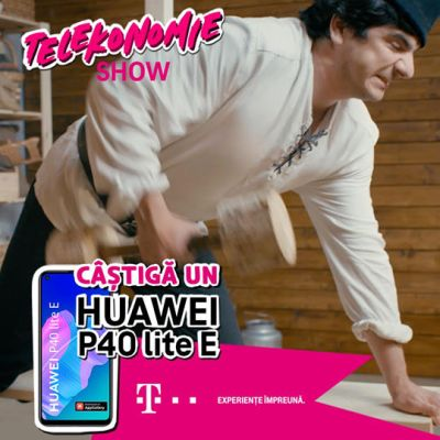 Câștigă 5 smartphone Huawei P40 lite E