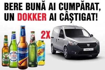 Câștigă 2 mașini Dacia Dokker