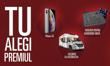 Câștigă un iPhone XS, un voucher Fashion Days de 5.000 lei sau un voucher Haff de 7.100 lei