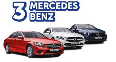 Câștigă 3 mașini Mercedes-Benz