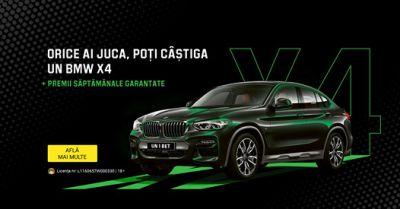 Câștigă o mașină BMW X4