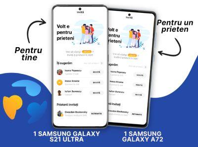 Câștigă un smartphone Samsung Galaxy S21 Ultra