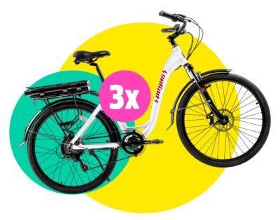 Câștigă una dintre cele 3 biciclete electrice Pegas