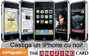 Castiga un iPhone de 8 GB, un sistem de navigatie ASUS R300 si un aparat foto Samsung D75 7 Mpx