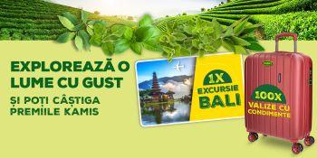 Câștigă o vacanță în Bali și 100 de valize Movom Wood