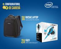 Castiga un rucsac laptop Samsonite si 2 perechi de casti SMS Audio Biosport