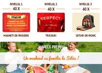 Castiga un weekend cu familia la Sibiu si alte 120 de premii