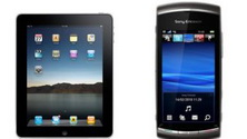 Castiga o tableta Apple iPad si un telefon mobil Sony Ericsson Vivaz
