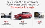 Castiga o masina Mercedes-Benz Clasa B, 10 bucatarii inteligent echipate si 25 televizoare Samsung