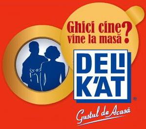 """Concurs """"Ghici cine vine la masa"""": castiga unul din cele 310 premii oferite de Delikat"""