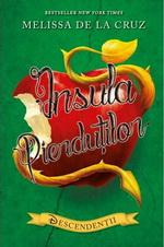 """Castiga 3 carti """"Descendentii. Insula pierdutilor"""" de Melissa de la Cruz"""