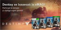 Castiga o consola PlayStation, 2 procesoare AMD, un SSD Kingston si 10 jocuri Destinity