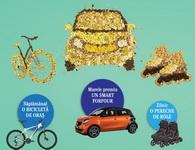 Castiga o masina Smart Forfour, 8 biciclete Kemmel si 61 perechi de role Oxelo 3