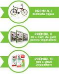 Castiga o bicicleta Pegas, 20 carti de bucate si 100 de kituri Doppelherz