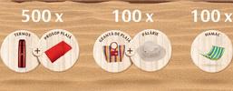 Castiga 700 de premii: hamace, palarii, termosuri, prosoape si genti de plaja