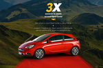 Castiga 3 excursii la munte cu noul Opel Corsa
