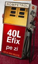 Castiga 40 de litri de eFix (carburant) zilnic