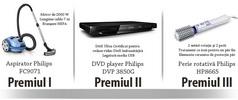 Castiga un aspirator Philis, un dvd player Philis si o perie rotativa Philis