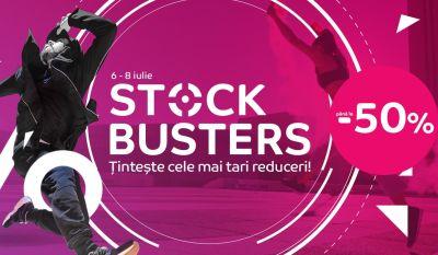 eMAG Stock Busters îți aduce până la 50% reducere