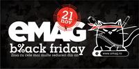 Reduceri Black Friday la eMAG