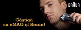 Castiga 3 seturi complete de produse de bucatarie marca Braun