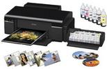 Castiga o imprimanta foto EPSON L800 si un set de hartie foto A4